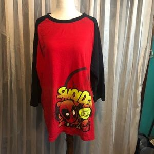 Marvel Comics Smolder Red Long Sleeve T-Shirt